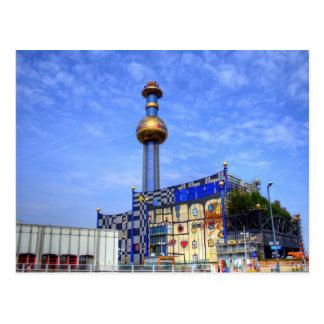 Spittelau, Vienna Austria Postcard