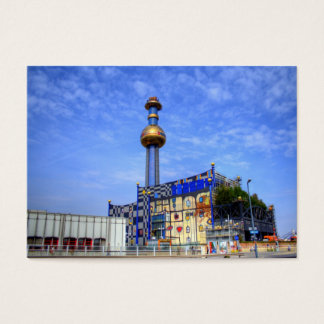 Spittelau waste incineration plant business card