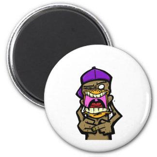 Spittin Monkey Fridge Magnets