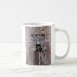 Spitting face fountain in San Miguel de Allende Coffee Mug