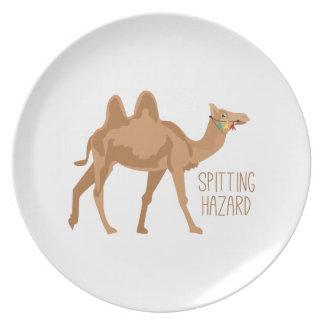 Spitting Hazard Dinner Plates