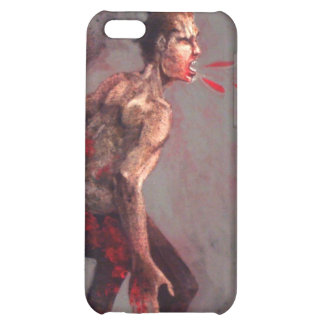 spitting zombie cover for iPhone 5C