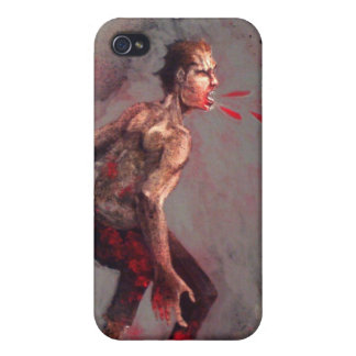 spitting zombie iPhone 4/4S cases