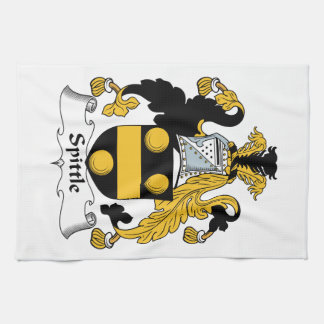 Spittle Family Crest Hand Towels