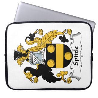 Spittle Family Crest Laptop Sleeves