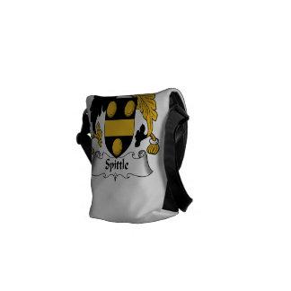 Spittle Family Crest Messenger Bag