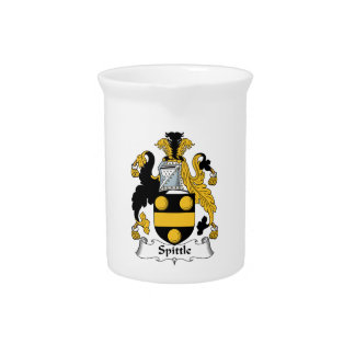 Spittle Family Crest Drink Pitcher