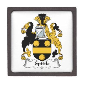 Spittle Family Crest Premium Trinket Boxes