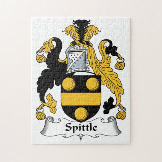 Spittle Family Crest Puzzles