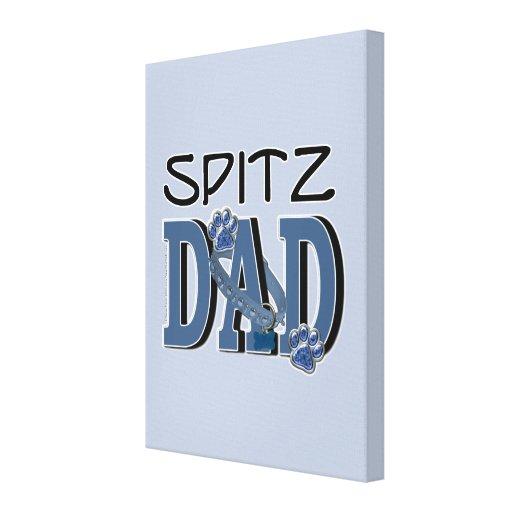 Spitz DAD Canvas Print
