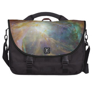 Spitzer and Hubble Create.. Laptop Bag