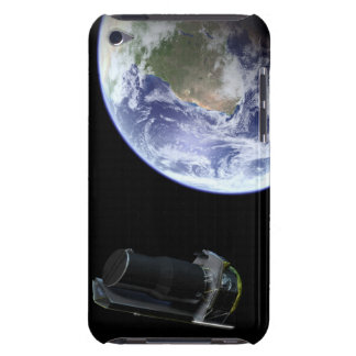 Spitzer departing the Earth soon after launch Case-Mate iPod Touch Case