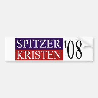 Spitzer Kristen 08 Bumper Sticker