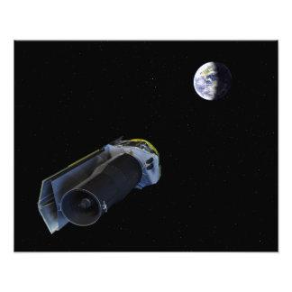 Spitzer points its high-gain antenna photo