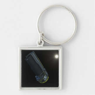 Spitzer seen in visible light keychain