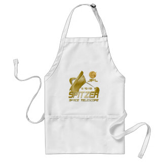 Spitzer Space Telescope: 10th Anniversary!! Adult Apron