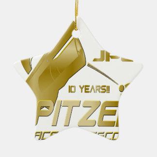 Spitzer Space Telescope: 10th Anniversary!! Ceramic Ornament