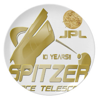 Spitzer Space Telescope: 10th Anniversary!! Plate
