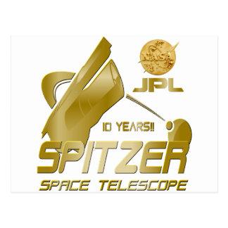 Spitzer Space Telescope: 10th Anniversary!! Postcard