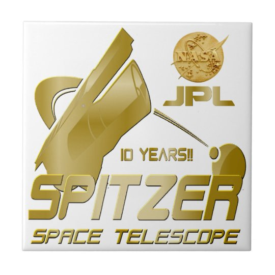 Spitzer Space Telescope: 10th Anniversary!! Tile