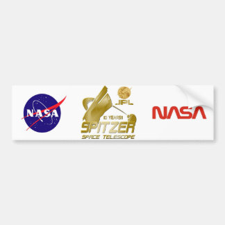 Spitzer Space Telescope Bumper Sticker