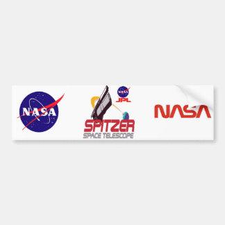 Spitzer Space Telescope Bumper Sticker