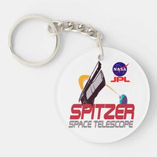 Spitzer Space Telescope Keychain