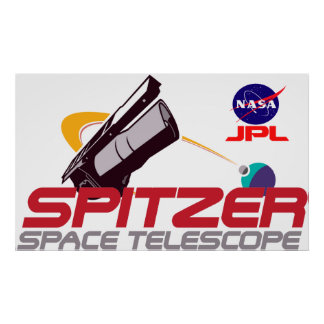 Spitzer Space Telescope Poster