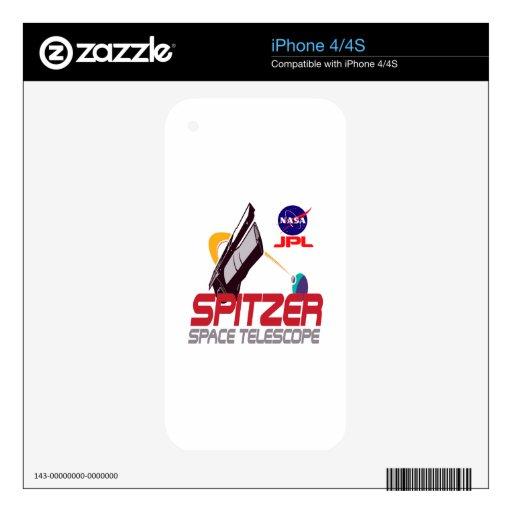 Spitzer Space Telescope iPhone 4 Decals