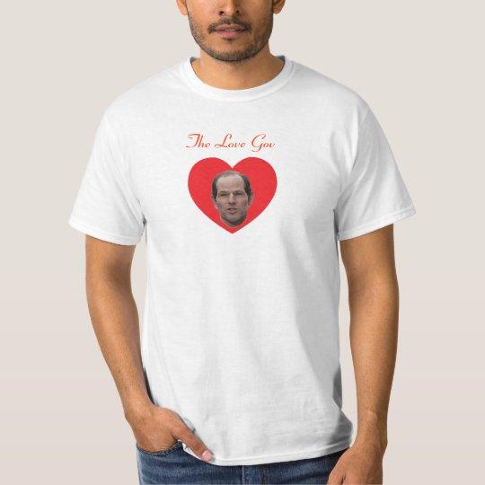 Spitzer:  The Love Gov T-Shirt