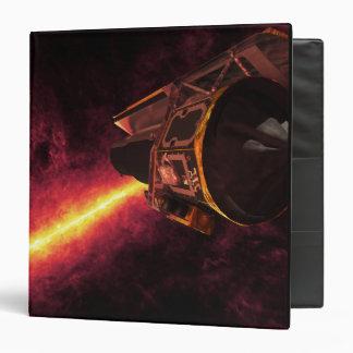 """Spitzer visto contra el cielo infrarrojo carpeta 1 1/2"""""""
