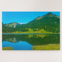 Spitzingsee Bavaria Germany. Jigsaw Puzzle