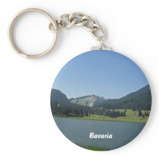 Spitzingsee, Bavaria keychain