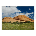 Spitzkoppe or Spitzkuppe, arid mountain Greeting Cards