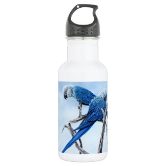Spix Macaw for the Spix lover 18oz Water Bottle