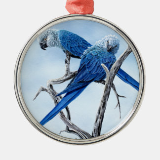 Spix Macaw gifts for the Spix lover Metal Ornament