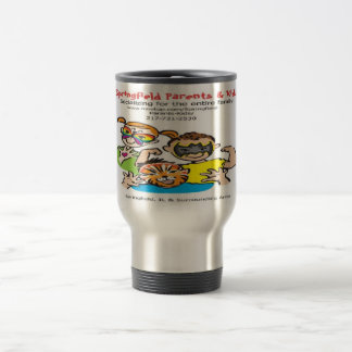 SPK Logo Stainless Travel Mug