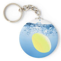 Splash 3 Keyring - Lemon