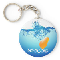 Splash 4 Keyring - Orange