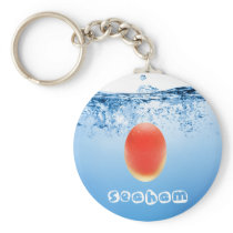 Splash 5 Keyring - Red