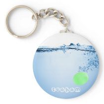 Splash 6 Keyring - UV Glass