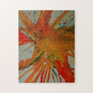 Splash Abstract Painting Puzzle/Jigsaw Puzzle