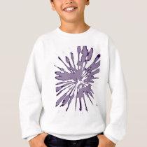 Splash Abstract Pattern Sweatshirt