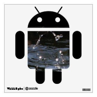 Splash Android Wall Sticker