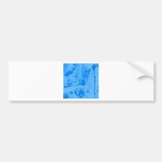 splash blue bumper sticker