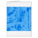 splash blue greeting cards