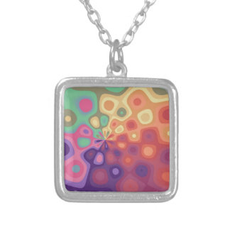 Splash boogie silver plated necklace