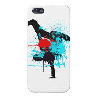 Splash BreakDance Skin iPhone SE/5/5s Cover