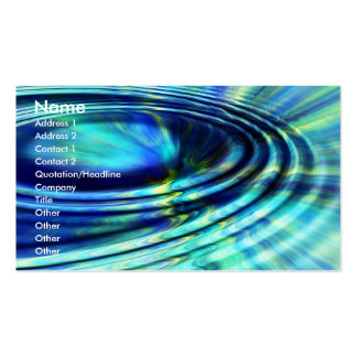 Splash business card