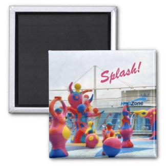 Splash Color Magnet